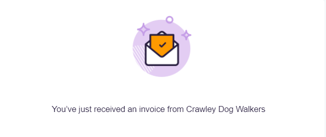 CRAWLEY DOG WALKERS - NEW INVOICING SYSTEM